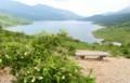 「天空の湖」と呼ばれる、「野反湖」。(29.7.7)