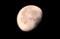 「水無月二十日」の残月。(29.8.12)(4:10)
