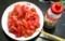 いよいよ出番の「トマト丼」。(29.8.13)