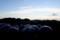 西空は、夕焼け…。(29.8.24)