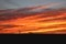 「夕焼け雲」が棚引いて。(29.8.26)(18:32)