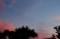 「七月五日」のお月さまも見えて…。(29..8.26)(18:34)
