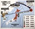 読売新聞1面「北朝鮮による弾道ミサイルの発射」(29.8.30)