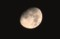 西空の「お月さま」は、耳を下にしして逆立ちしています。(29.9.3)(0:04)