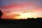 美しい夕焼け。(29.9.13)(18:13)