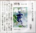 読売新聞コラム・四季 (29.9.16)