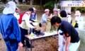 テレビ、佐久市で開かれた、「植物観察会」(29.9.27)