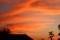 夕焼け雲、お天気下り坂…?(29.10.11)