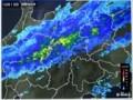 「秋雨前線の帯」が、長野県佐久地方にかかり…。(20.10.13)