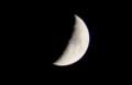 「十月八日」のお月さま。(29.11.25)(17:15)