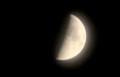 ほんのり、「十月九日」のお月さま。(29.11.26)(17:21)