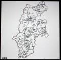 長野県白地図・佐久市はどこ?(29.11.30)