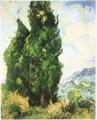 ゴッホがに描いた絵・「糸杉」