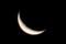 「チェシャ猫の口」のような,お月さま。(29.12.14)(6:15)