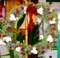 「ひろばの草木」を使った、「クリスマス・リース」(29.12.20)
