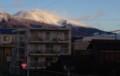 さすがに高山・「浅間山」は、白銀に…。(29.12.25)
