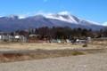 正月二日、三重式火山・浅間山。(30.1.2)