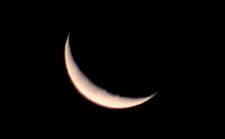 霜月・「二十六夜待」の月。(30.1.13)(4:59)