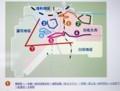 佐久市立図書館・移動図書館車の巡回コース。(30.1.17)