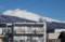 雪雲が切れて、「白銀の浅間山」が…。(30..2.6)(10:56)