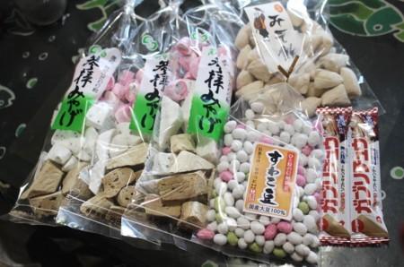 鼻顔稲荷神社・「初午祭」、参拝記念の縁起物。(30.2.11)
