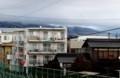 上半分が雪具に覆われた「浅間山」(30.3.1)