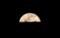 半分出た「正月十五日」おお月さま。(30.3.2)(18:24)
