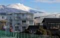 真冬の景色、白銀の浅間山。(30.3.23)