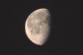 昨夜・二月二十日のお月さま。(30.4.6)(5:17)