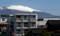 霧が霽れると、「白銀の浅間」(30.4.19)