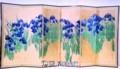 尾形光琳:「燕子花屏風」(根津美術館)(30.6.17(