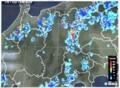 佐久市に「大雨警報」・雨雲レーダー画像。(30.7.10)(16:309