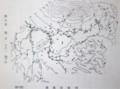 北佐久郡の湧泉分布図(『北佐久郡志』(30.7.19)