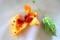 「ゴーヤ」の果実と種子。(30.8.6)