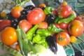 卓上は、「夏野菜」のオンパレード。(30.8.8.)