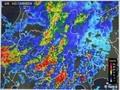 1時間後の雨雲レーダー画像。(30.9.4)(18:00)
