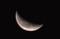 雨上がり、昨夜・七月二十五日のお月さまま。(30.9.5)(4:42)