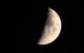 雲間に、「八月七日」のお月さま。(30.9.16)(10:50)