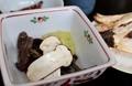 昼食に「松茸ご飯」をいただく。(30.9.23)
