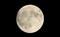 空高く昇った「中秋の名月」。(30.9.24)(19:30)