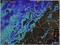 雨雲が、佐久市にかかり始めた「レーダー画像。(30.9.25)