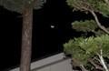 東の空に、「二十六夜」のお月さま。(30.10.6)(3:49)