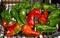 「焼きピーマン」に、完熟の赤ピーマンも仲間入り。(30.10.159