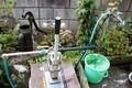 我が家の、外水道・井戸水周り。(30.10.18)