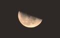 「季秋二十三日」のお月さま。(30.10.31)(23:20)