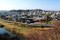懸崖造り・社殿から、「岩村田城址」一帯。8(0.11.11)