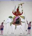 ネットより「インドラ」の絵。830.11.13)