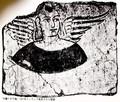 有翼の天使像(スタインの旅行記)(30.12.12)