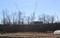 崖上に、「県立武道館」の工事恥じまる。(30.12.17)