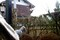 手作り、部分食観察用の「雨樋・針穴写真機」(31.1.6)